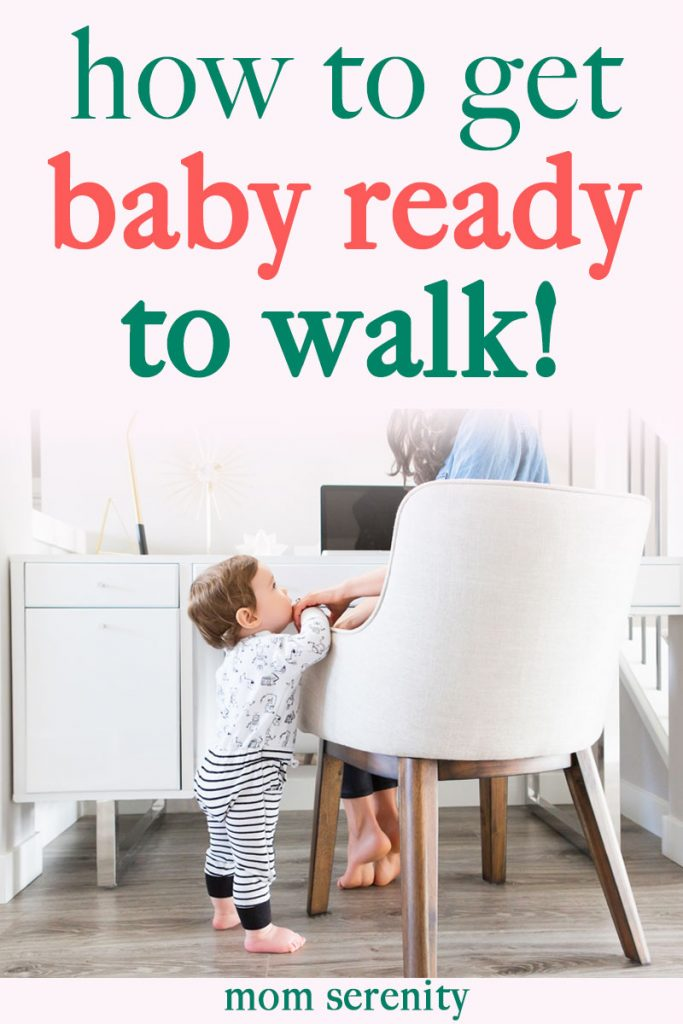 Getting baby ready to walk! | toddler tips | baby steps | first steps | #toddlers #parenting #babysteps