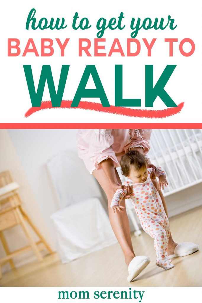 Get baby read to walk with these tips and tricks #babytips #momhacks #parenting #toddler