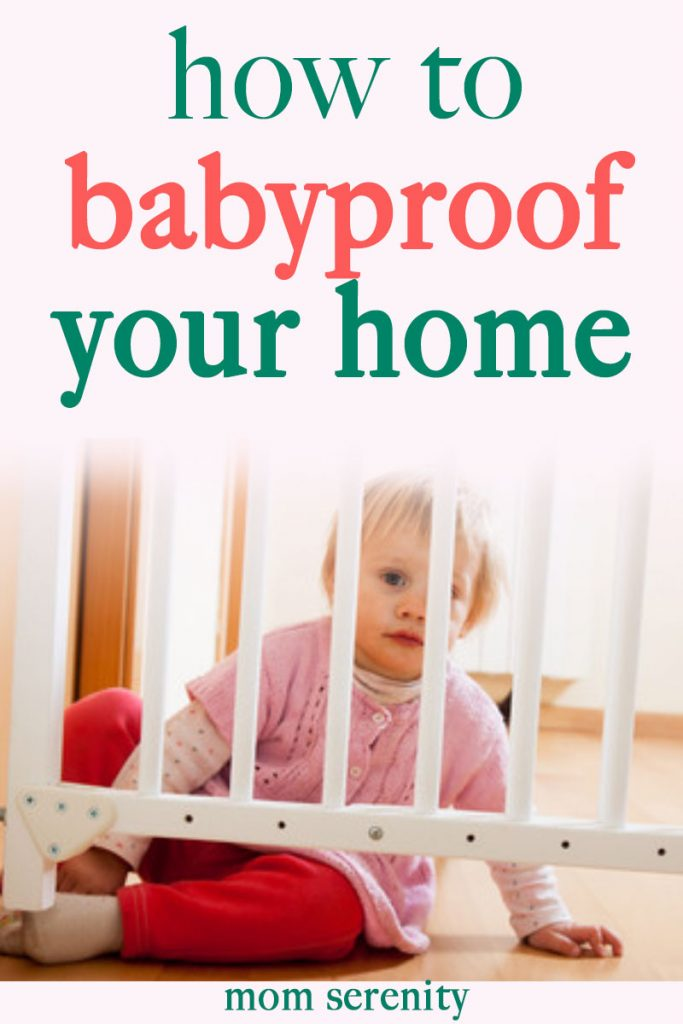 Babyproofing your home is important for a healthy child -- learn how to do it with our baby proofing tips, ideas, and hacks #momhacks #parenthacks #babyproofing