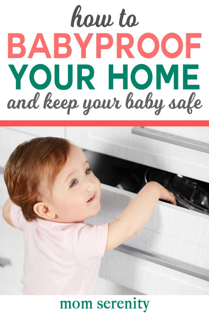 Babyproof your home to keep your children safe #babyproofing #parenting #babytips #momhacks