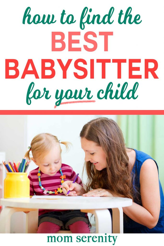 Find the BEST babysitter for your child with these caregiver tips and tricks #parenting #momhacks #babytips