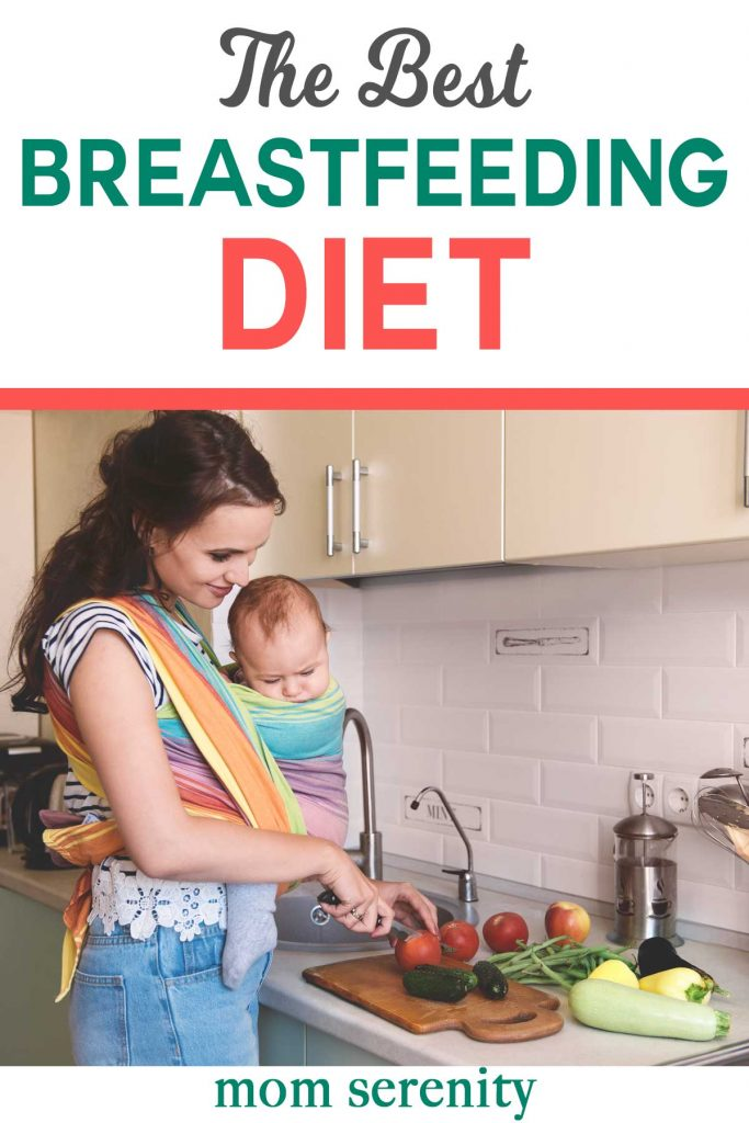 Get the best breastfeeding diet for healthy milk supply | #breastfeeding #diet #momhacks #baby