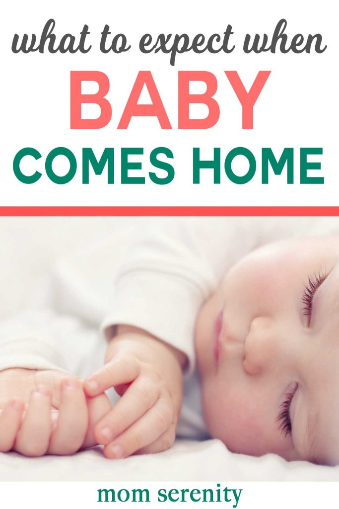 Learn what to expect when you bring baby home #babytips #pregnancy #newmoms #momhacks #baby