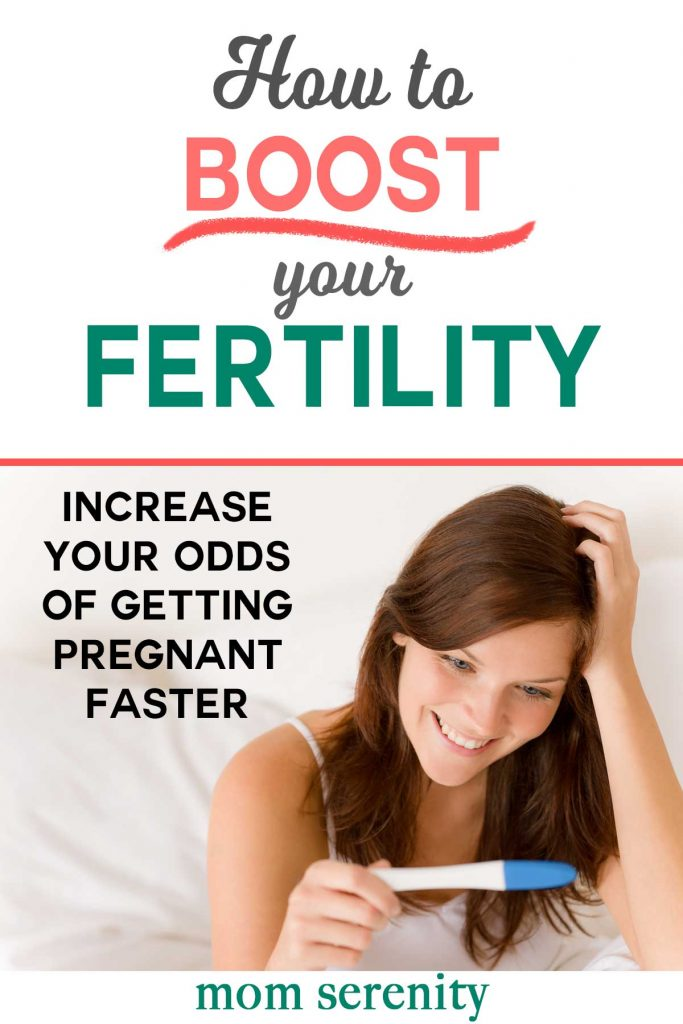 Fertility Tips to Increase Your Odds of Getting Pregnant Faster #fertility #infertility #ttc #pcos #pregnancy #pregnant #momlife #conception